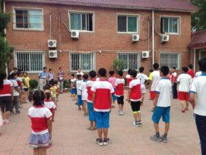 光愛学校出張ボランティア授業2014年7月22日