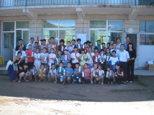 希望小学校出張ボランティア授業2011年7月25日