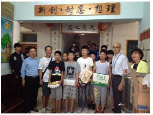 光愛学校出張ボランティア授業報告2016年7月19日