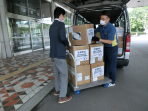 在北京日本コミュニティによる日本への医療物資支援について2020年6月12日