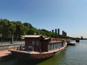 通州クルーズ(京杭大運河)と周口店・北京原人の郷活動報告