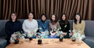 初心者向け生け花教室&働く女性の交流会を開催しました。