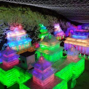 日帰りバスツアー『北京★龍慶峡氷灯祭り』へ行ってきました