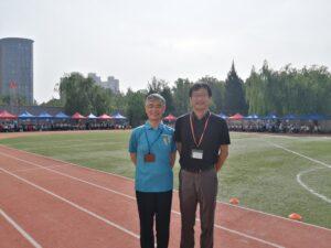 北京日本人学校へテントを寄贈しました 2021年5月14日